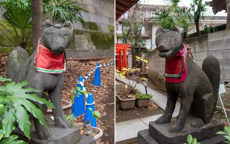 王子稲荷神社 狐