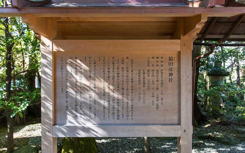 猿田彦神社 御由緒