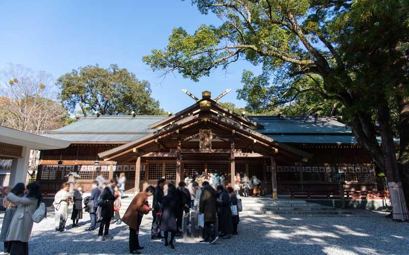 猿田彦神社 拝殿