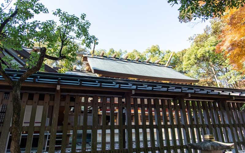 猿田彦神社 拝殿裏