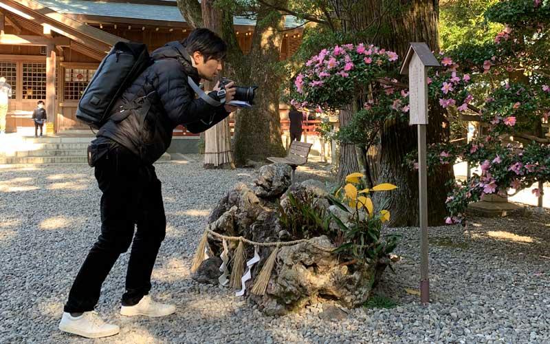 猿田彦神社 たから石