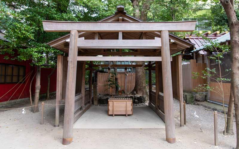 須原大社 拝殿