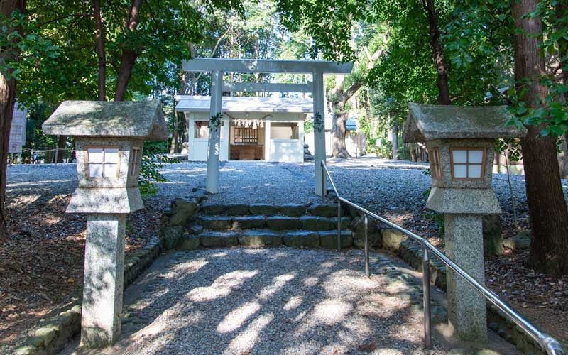 上田神社 鳥居