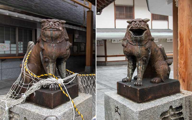 若八幡宮 狛犬
