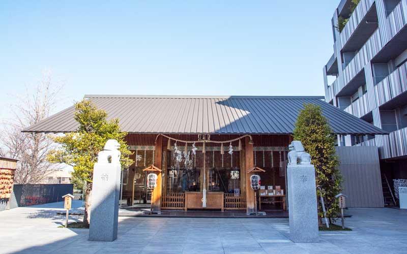赤城神社 拝殿