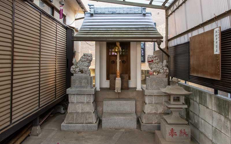 池立神社 拝殿