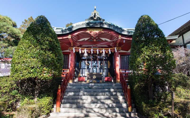 東大島神社 拝殿