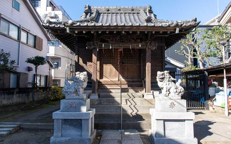 生田神社 拝殿