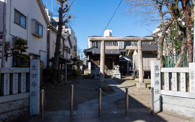 生田神社 入り口