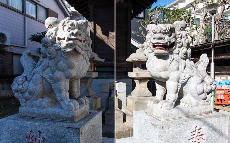 生田神社 狛犬