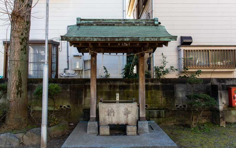 生田神社 手水舎
