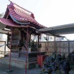 海神稲荷神社 拝殿