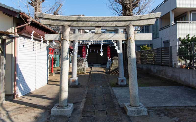 海神稲荷神社 第二の鳥居