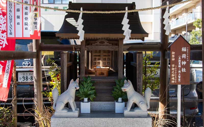 亀戸浅間神社 稲荷神社