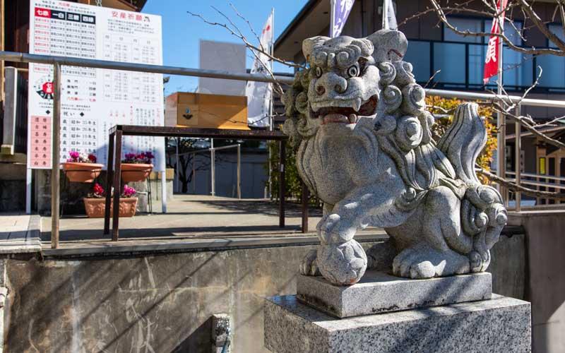 亀戸浅間神社 狛犬