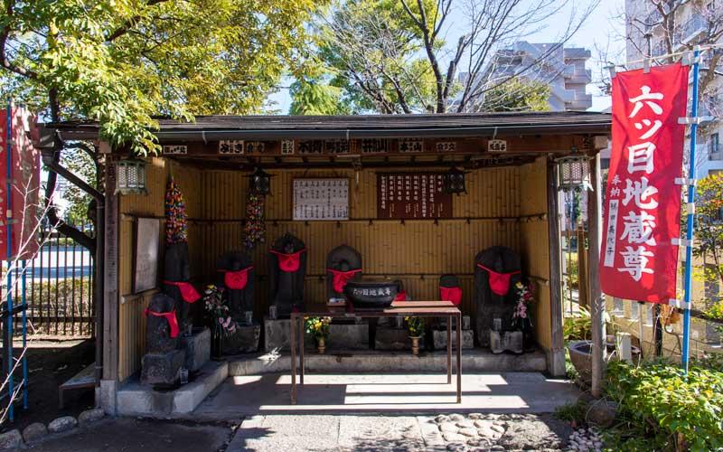 亀戸浅間神社 六ツ目地蔵尊