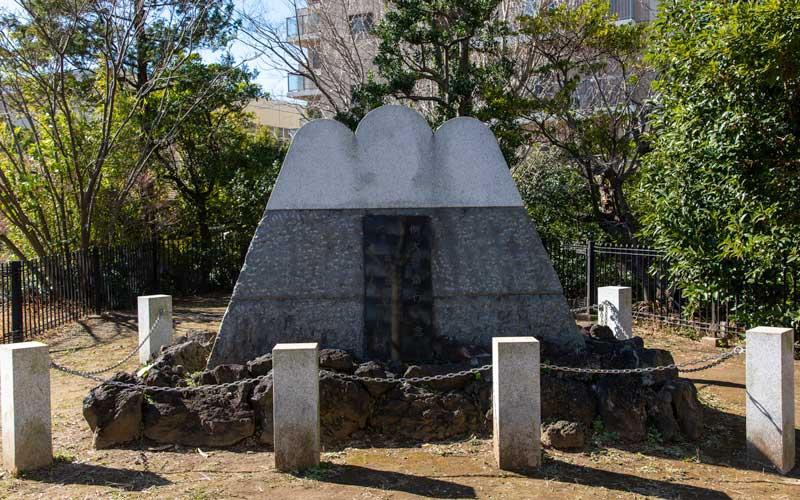亀戸浅間神社 例祭記念碑