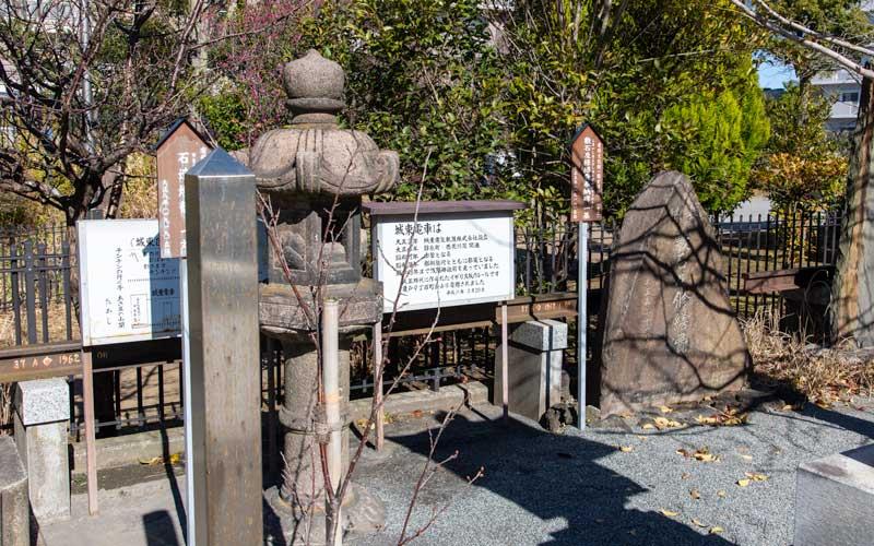 亀戸浅間神社 石碑
