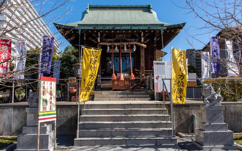亀戸浅間神社 拝殿