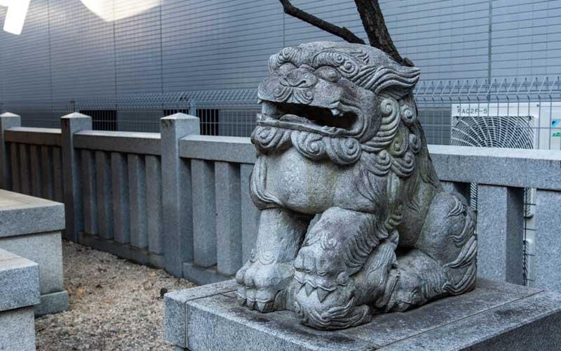 北野神社 狛犬