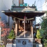 元赤城神社 拝殿