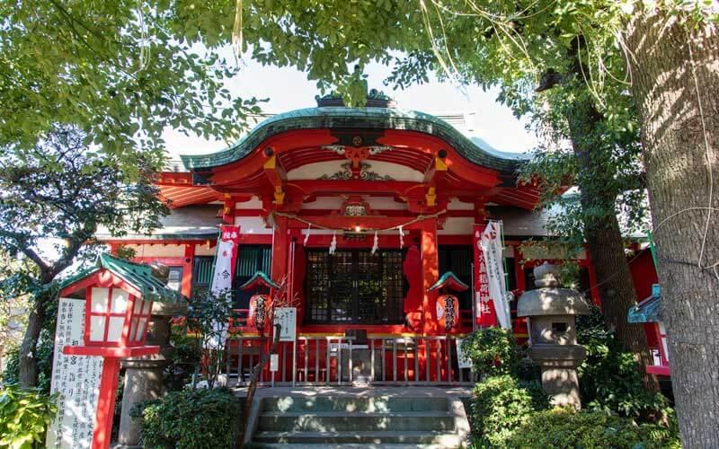大島稲荷神社 拝殿