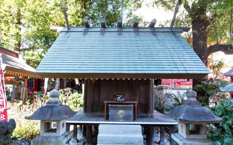 大島稲荷神社 佐竹神社 拝殿