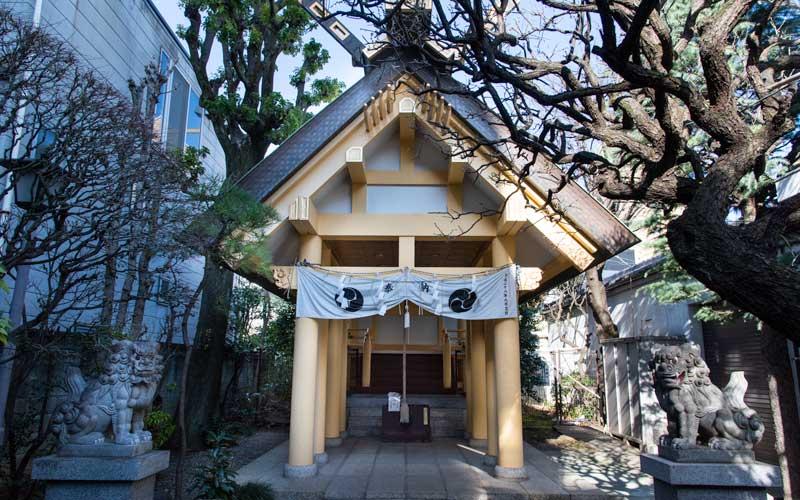 天祖神社 拝殿