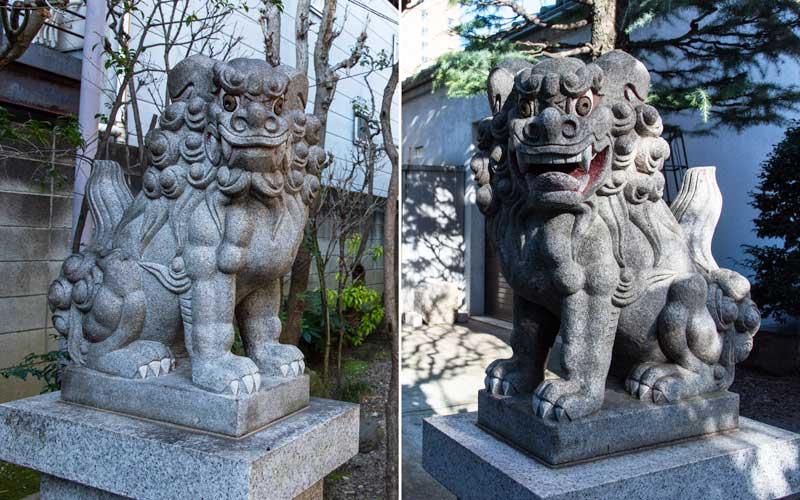 天祖神社 狛犬