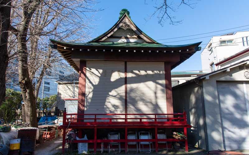 富賀岡八幡宮 神楽殿