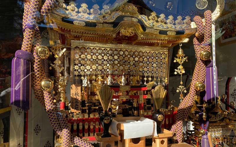 富賀岡八幡宮 御神輿