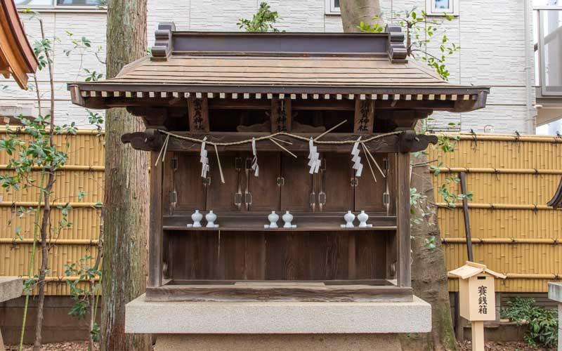 天沼八幡神社 日枝神社