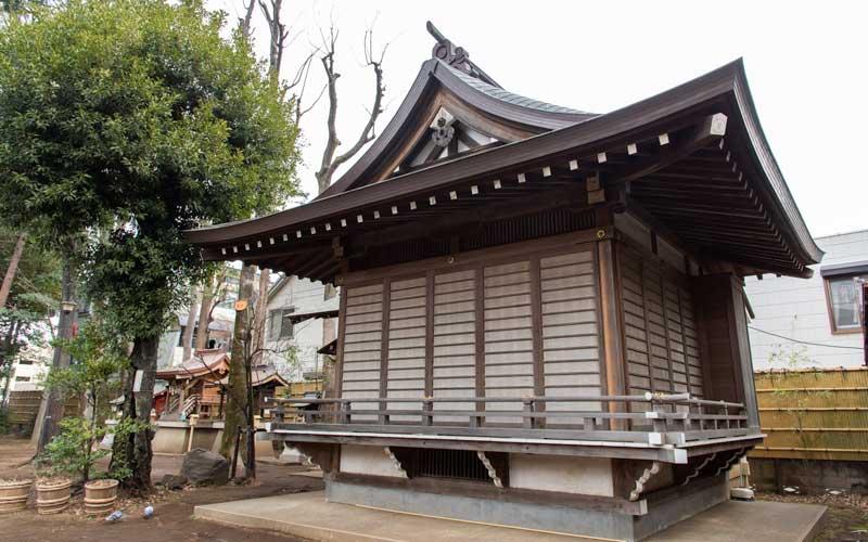天沼八幡神社 神楽殿
