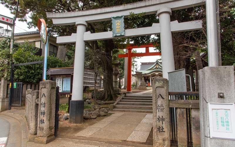 天沼八幡神社 鳥居