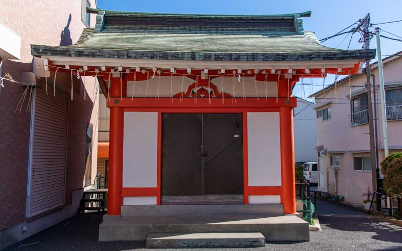 妙法稲荷神社 拝殿