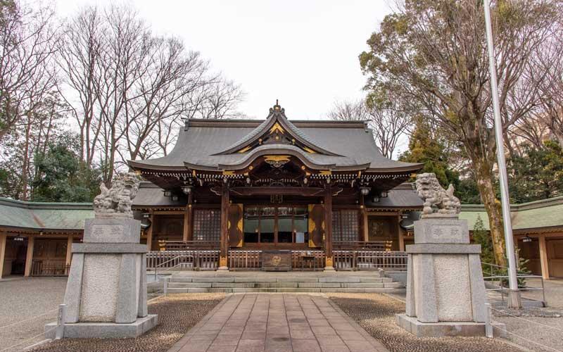 荻窪八幡神社 拝殿
