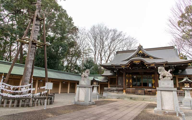 荻窪八幡神社 回廊