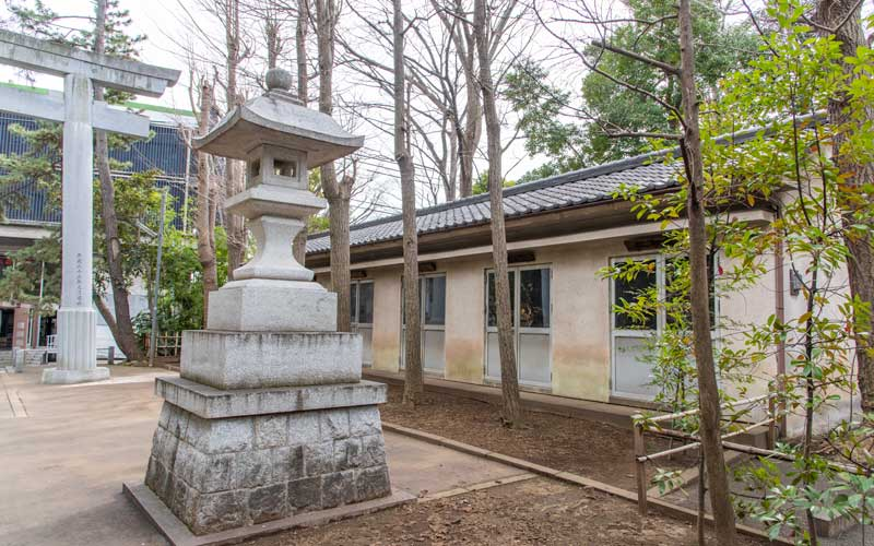 荻窪八幡神社 町内神輿庫