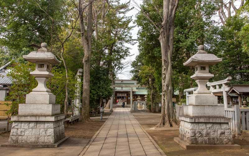 荻窪八幡神社 参道