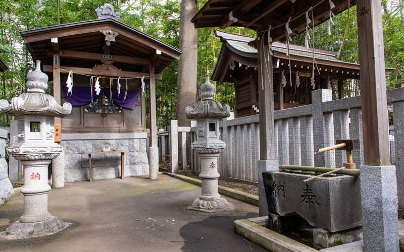 荻窪八幡神社 猿田彦神社