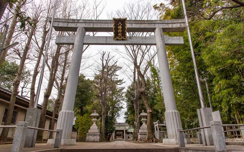 荻窪八幡神社 鳥居