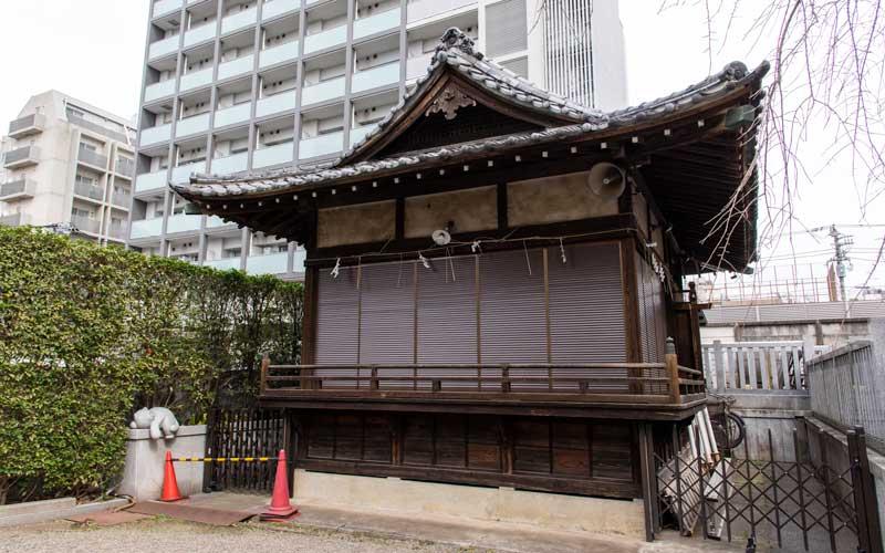 荻窪白山神社 神楽殿