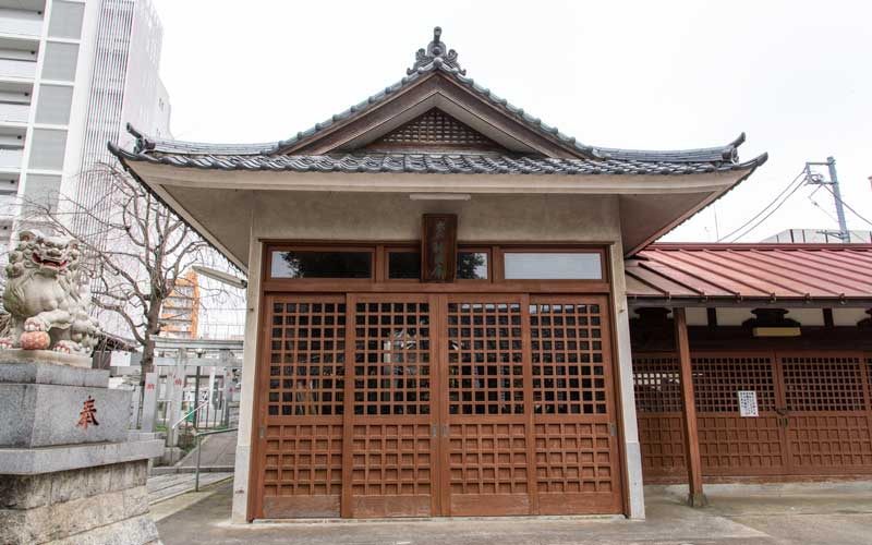 荻窪白山神社 神輿庫