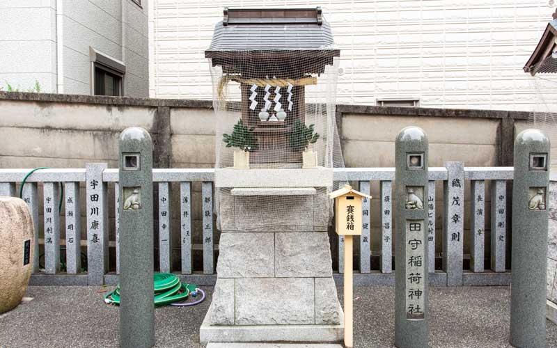 荻窪白山神社 田守稲荷神社